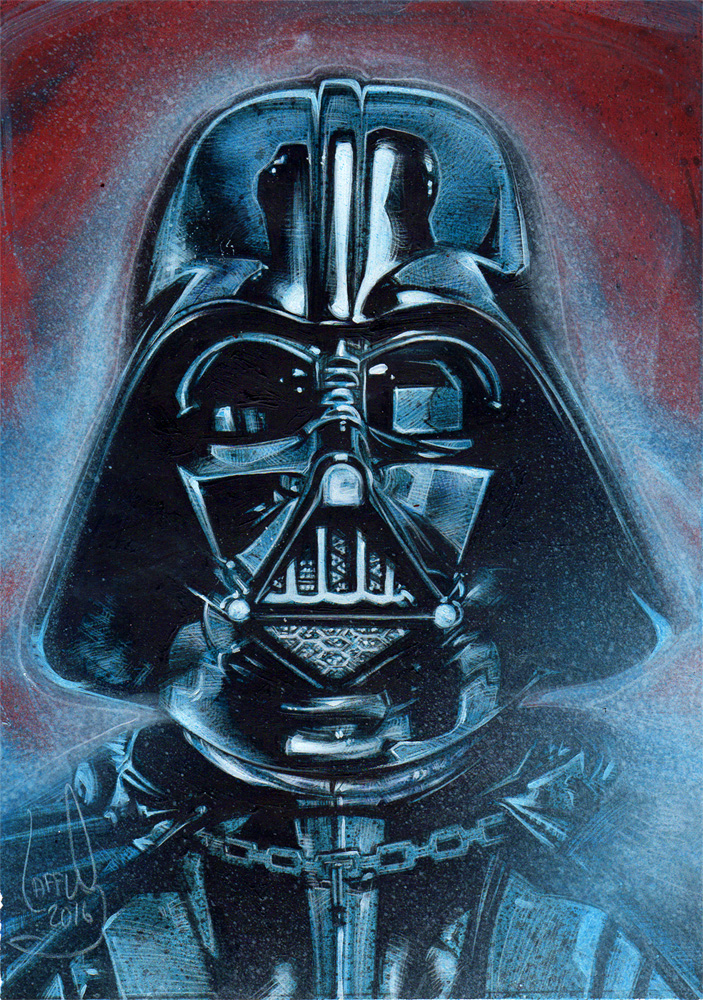 Darth Vader, Artwork© Jeff Lafferty