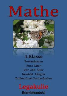 Zahlenrätsel 4.Klasse Grundschule Arbeitsblatt PDF