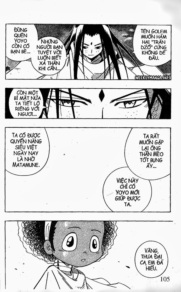 Shaman King [Vua pháp thuật] chap 202 trang 16