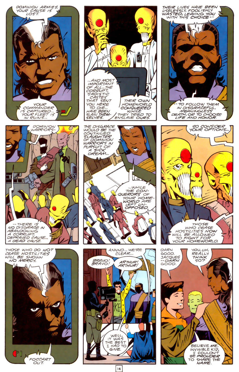 Legion of Super-Heroes (1989) 35 Page 14