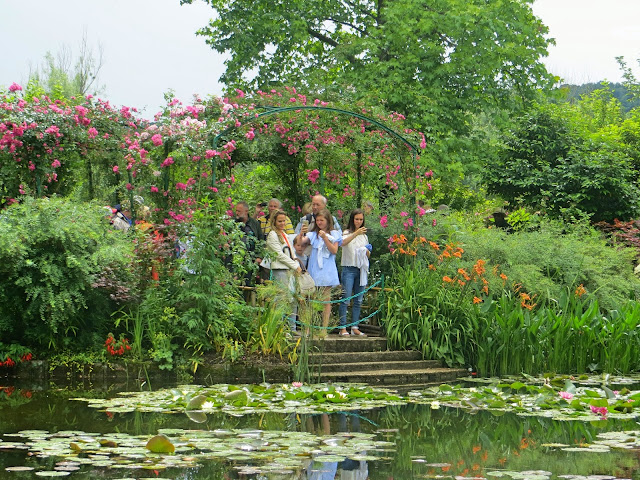 Monet's garden, Water garden, viewing point