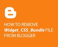 Cara Terbaru Menghapus CSS Bundle Blogger untuk Kecepatan Loading Blog