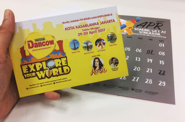 Acara Dancow Explore Your World di Kota Kasablanka