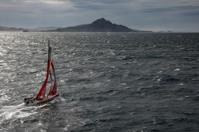 La Volvo Ocean Race au Cap Horn
