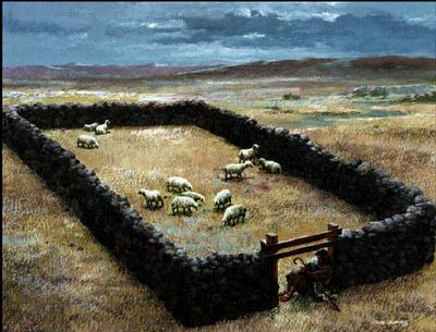 """Lenten Midweek Sermon: """"I AM the Door and I AM the Good Shepherd"""""""