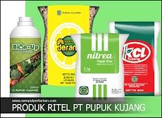 Mengenal secara singkat Produk Ritel PT Pupuk Kujang (KCL, Nitrea, Jeranti dan Bion-up)