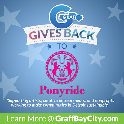 Graff Gives Back to Ponyride