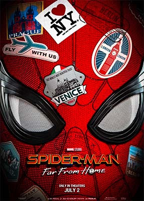 Spider Man Far From Home Full HD Movie Download Poster
