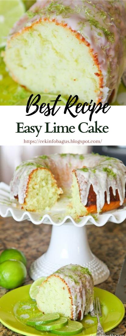 Easy Lime Cake #desserts #cakerecipe