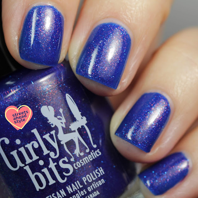 Girly Bits Winter Whiplash swatch by Streets Ahead Style