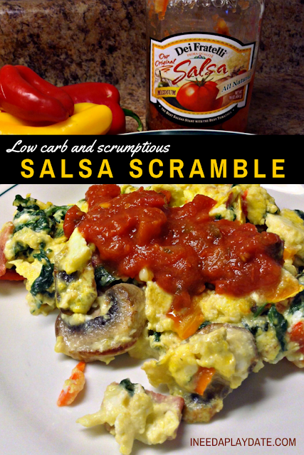 Dei Fratelli Salsa Scramble Recipe + a Diet Story