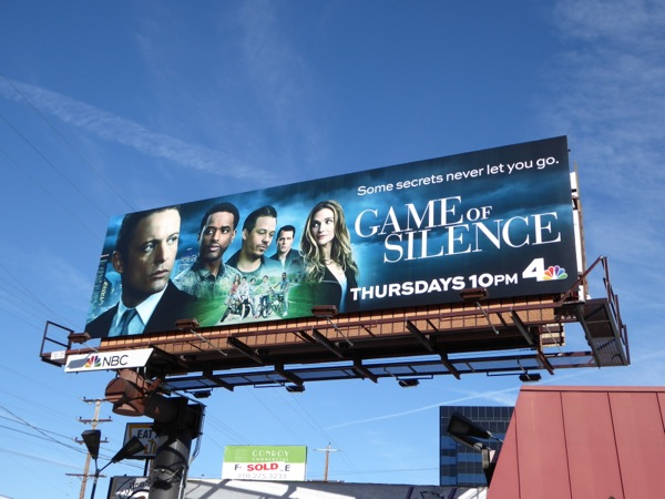 Game of Silence series premiere billboard
