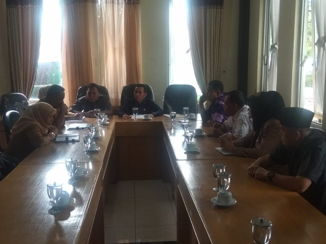 Komisi C DPRD Binjai gelar rapat dengar pendapat dengan (RDP) Dinas Pekerjaan Umum