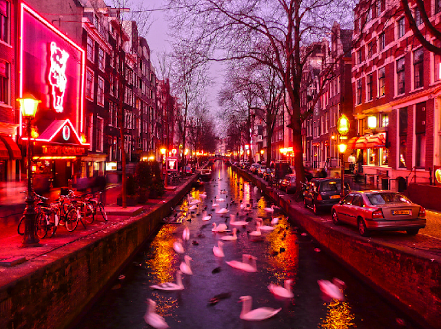 Curiosidades sobre o Red Light District em Amsterdã