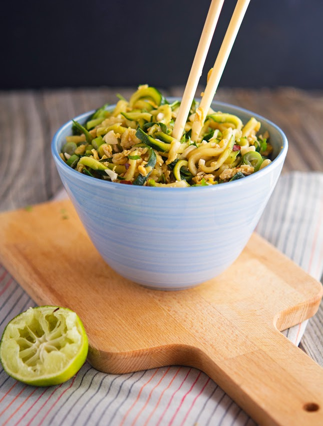 Easy Pad Thai Zoodles