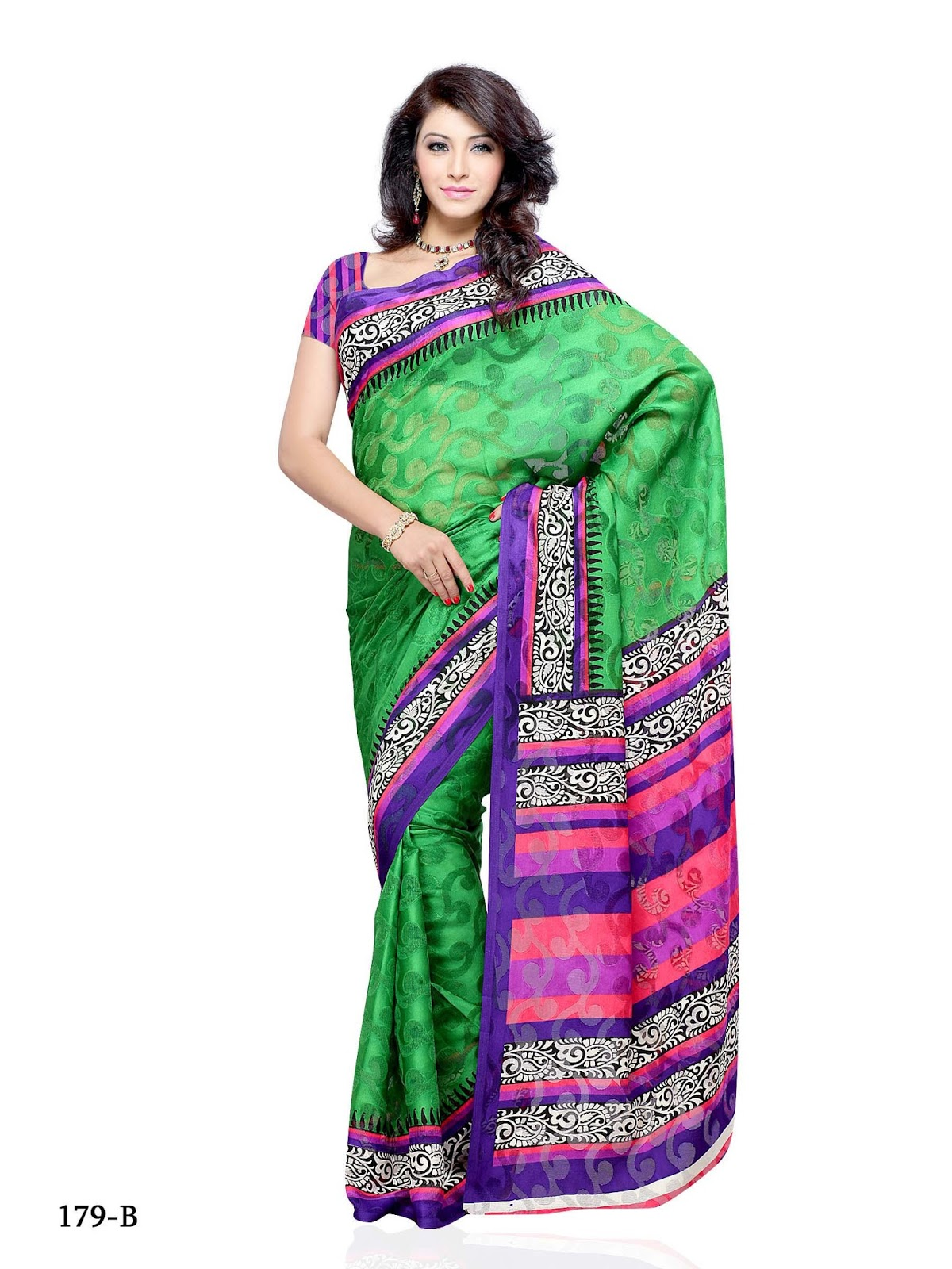 Online Shop Rs Online Shopping Brasso Multi Color Saree Rs 2000