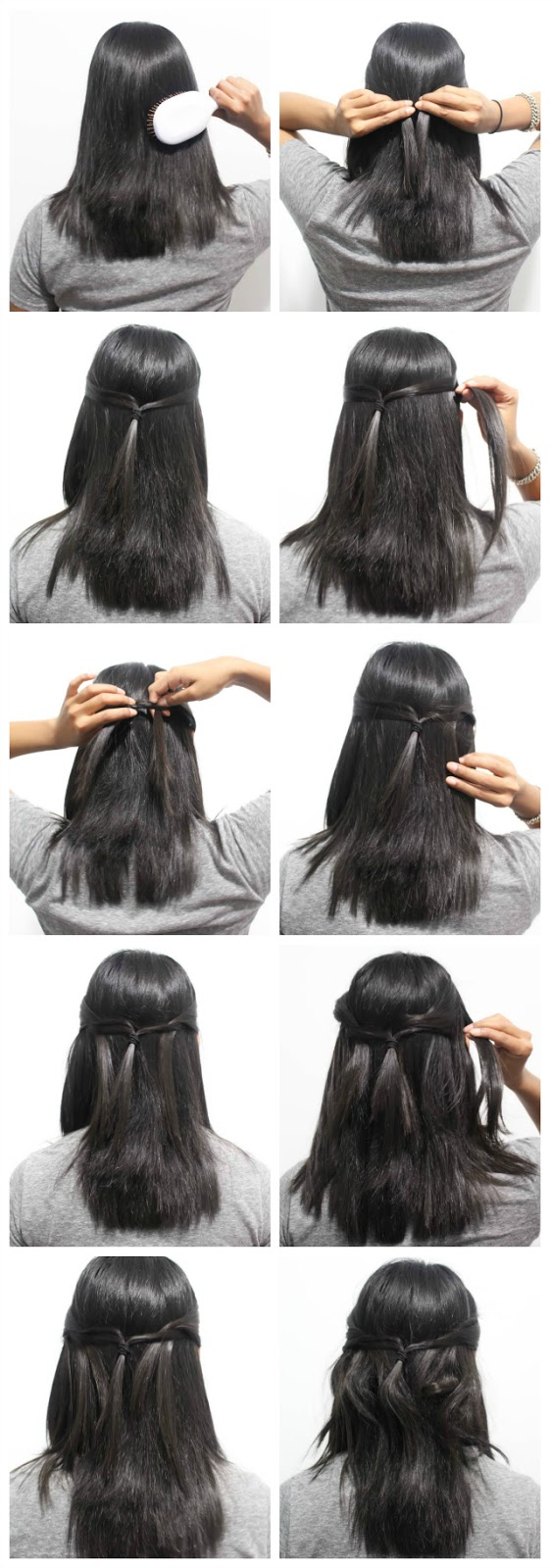#goddystyle ,ouchless elastics, #shop , hairstyle tutorial, short hair