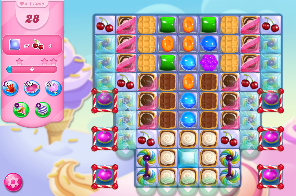 Candy Crush Saga level 6039