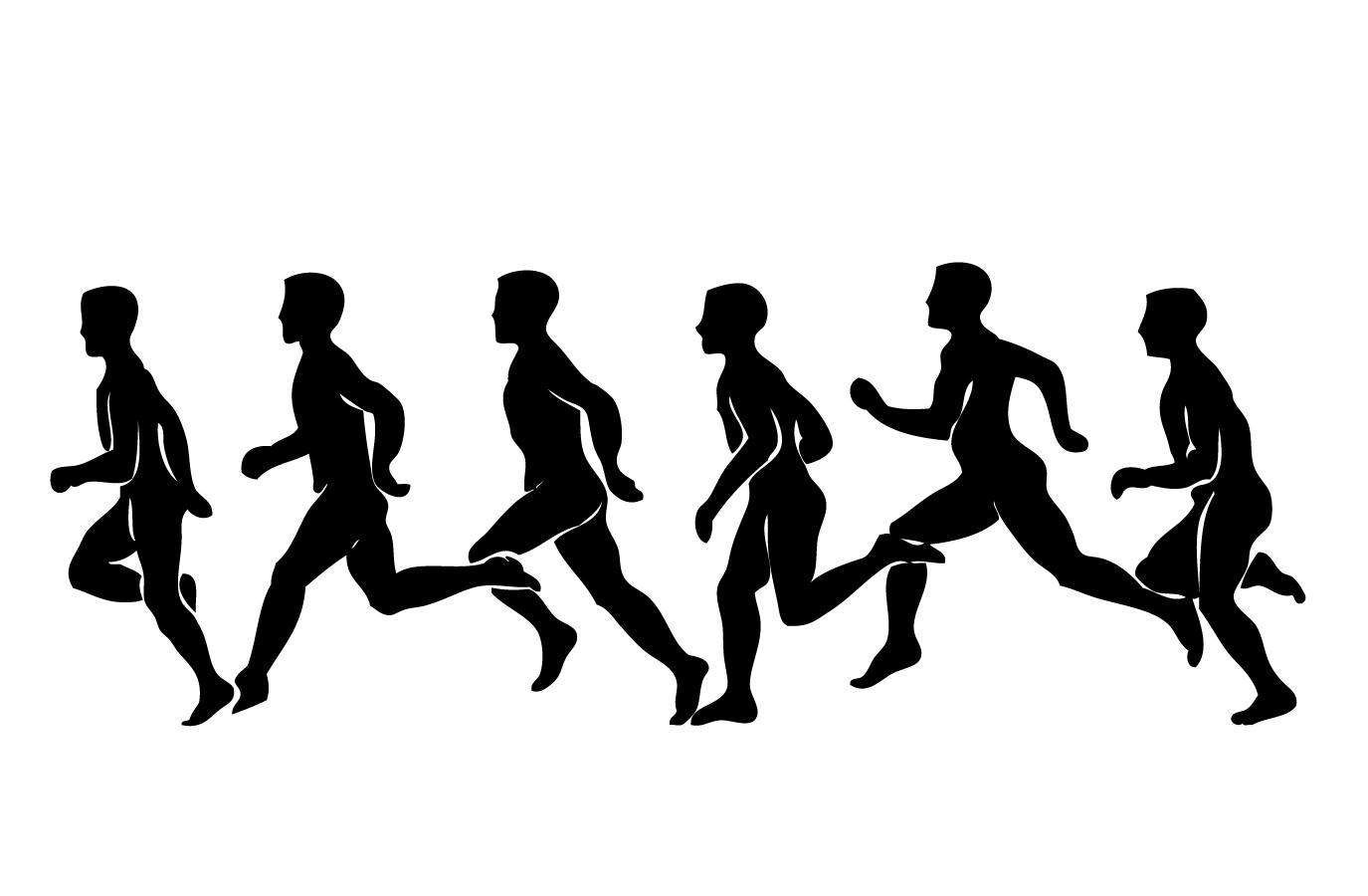 Bezierinfo Running Exercise Clip Art