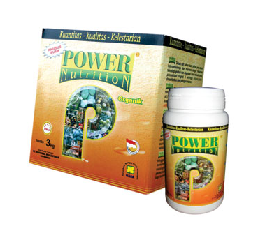 Power Nutrition Natural Nusantara