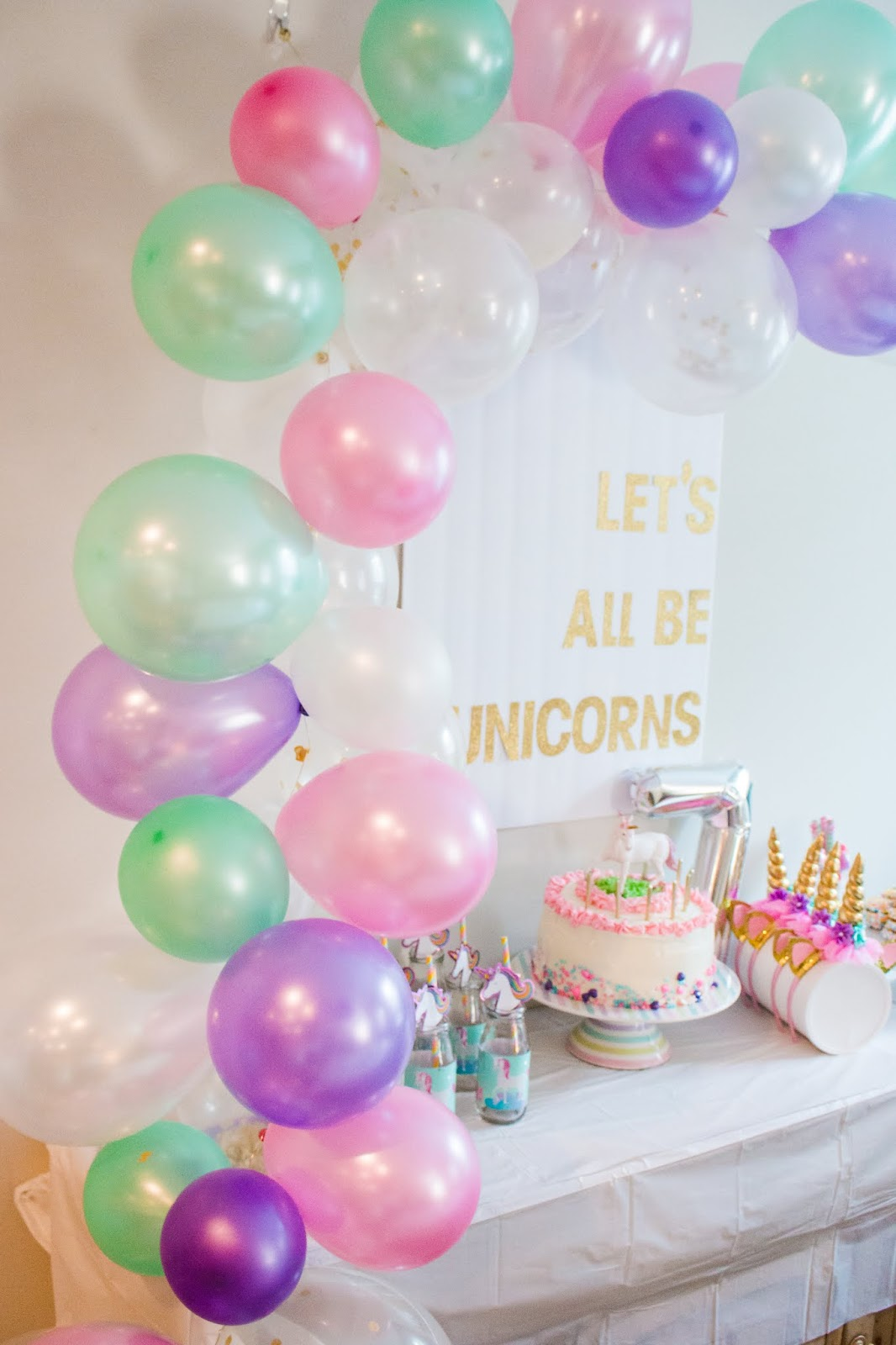 Lets All Be Unicorns A Unicorn Party For Nadia Pretty Real