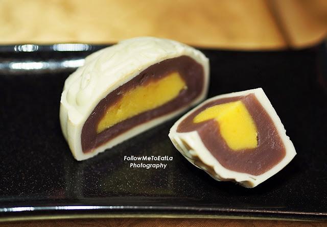 Snow Skin Japanese Potato with Custard 冰皮紫薯奶皇