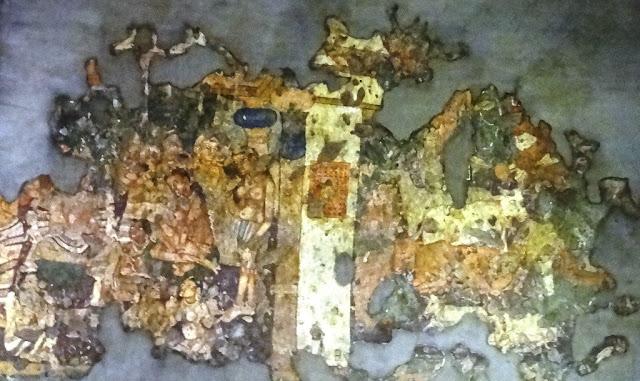 Ajanta cave painting 1-  Maitribala