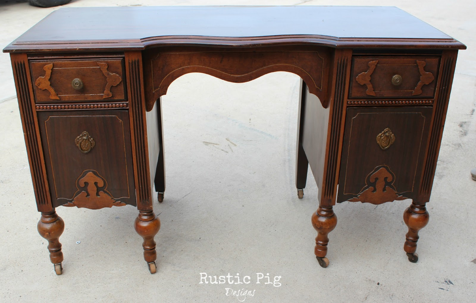 Excellent Child's Desk - The Rustic Pig NT91