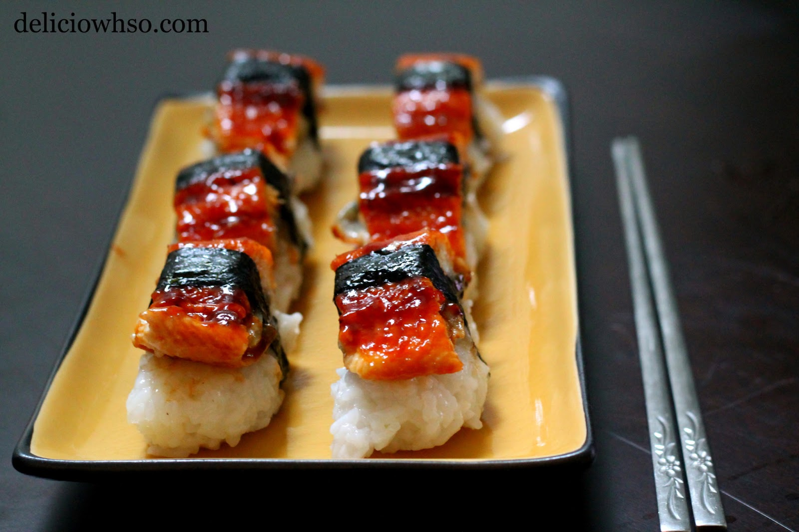 DELICI-OWH-SO: Sushi