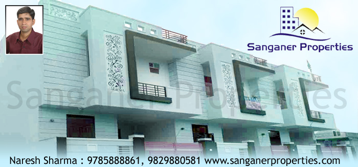 Independent House For Sale Mansarovar in Sanganer