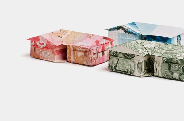 Money Origami Euro