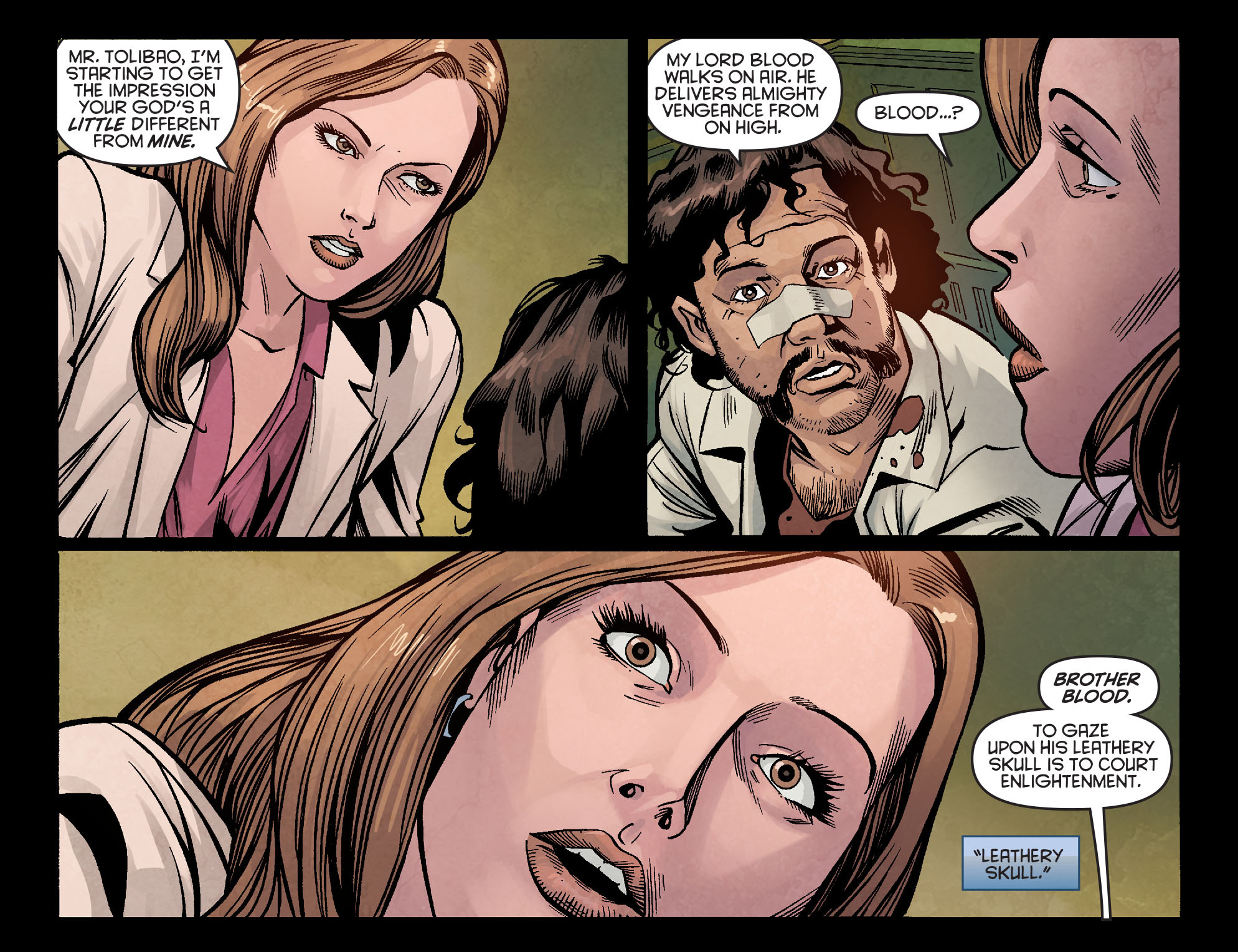 Read online Arrow: Season 2.5 [I] comic -  Issue #5 - 4