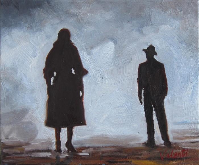 Ирландский художник. Jerry Valenti