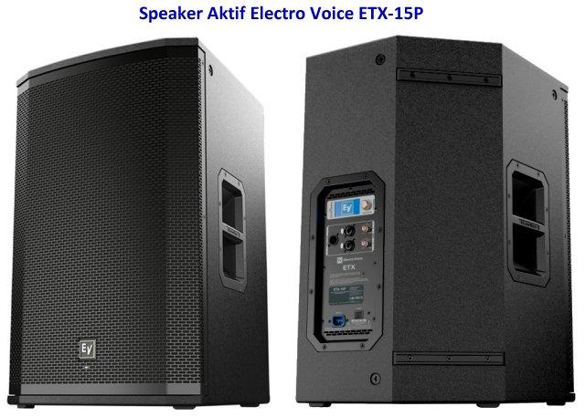 Harga Speaker Aktif EV ETX-15P