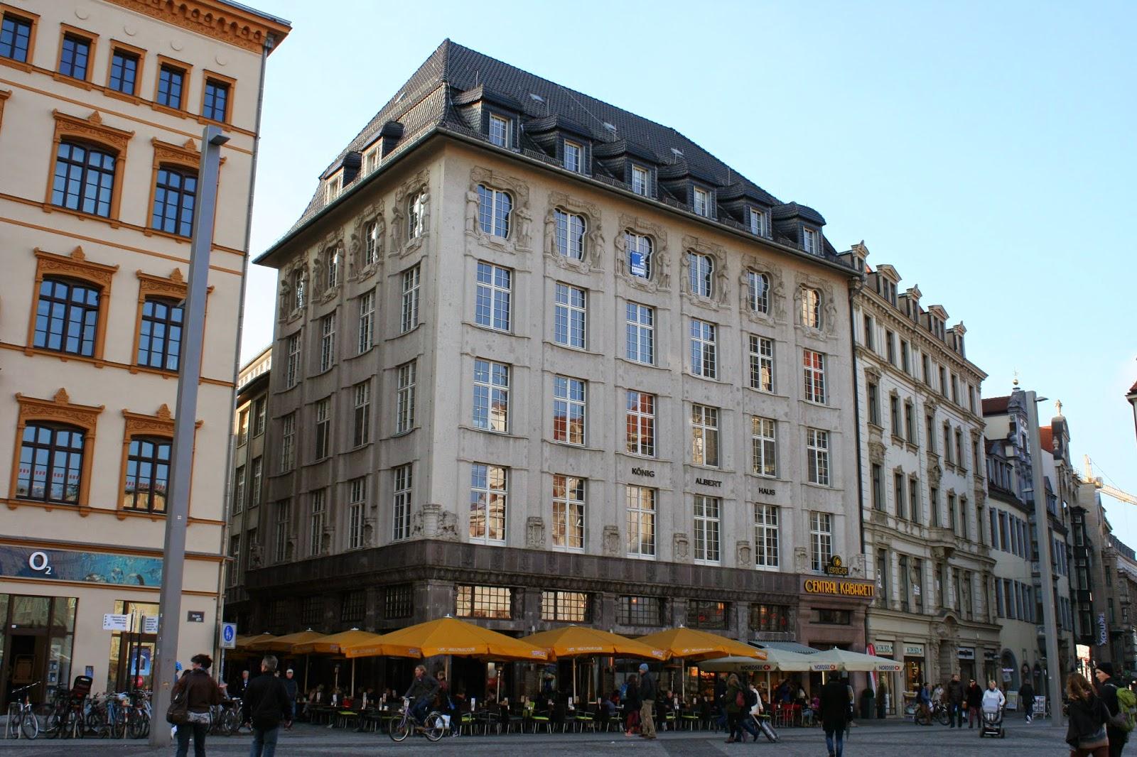 König Albert Haus am Leipziger Markt