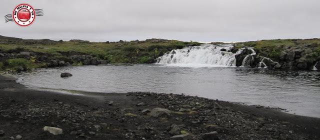 Fossar, camino a Askja, Islandia