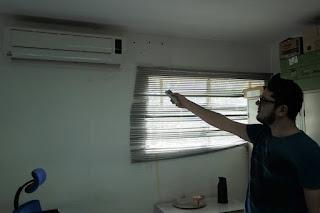 Prefeitura do CES/UFCG efetua manutenção de aparelhos de ar-condicionado no campus de Cuité