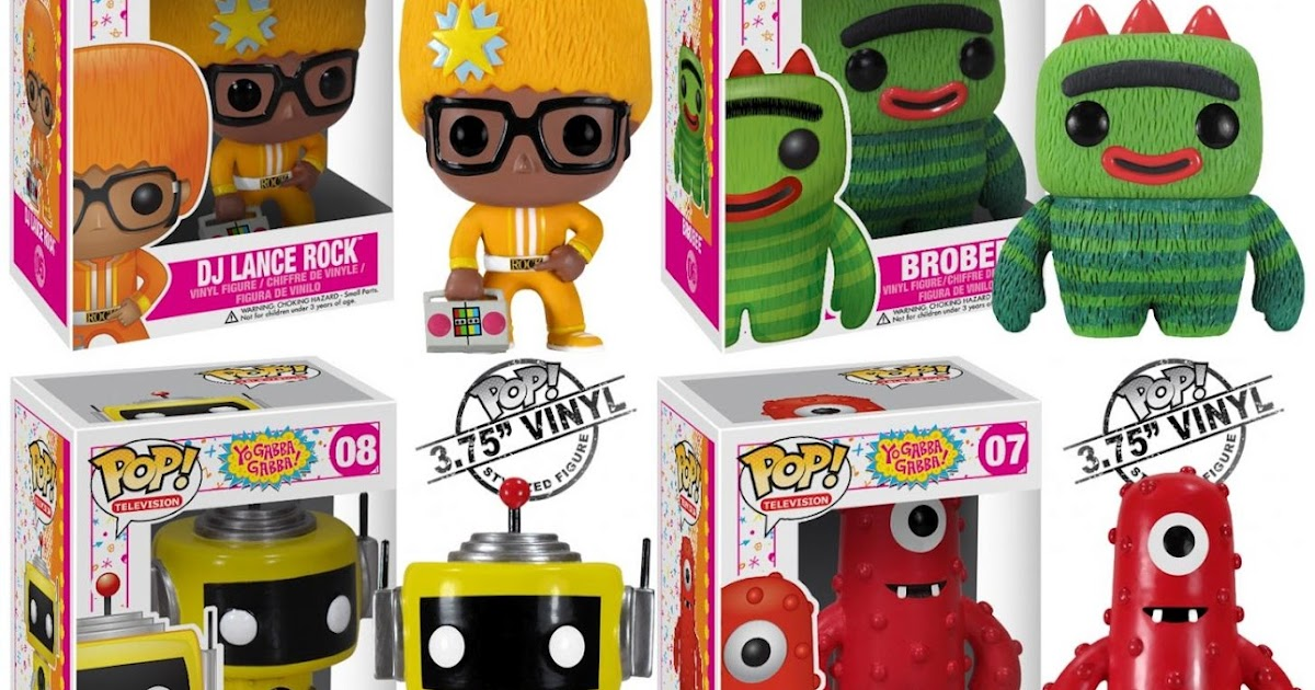 The Blot Says Yo Gabba Gabba Pop Television Vinyl