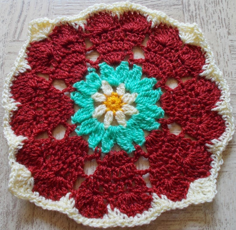 Sweet Nothings Crochet 21 Flower Granny Squares