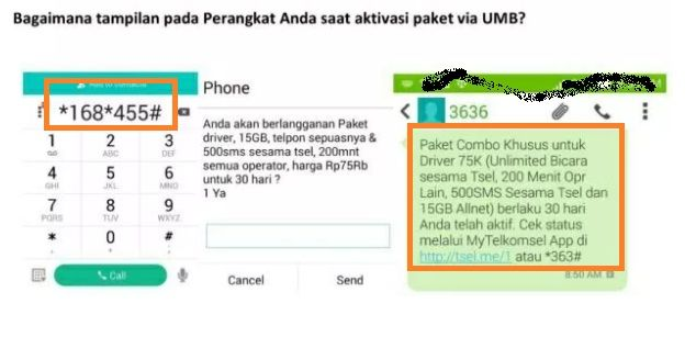 Cara Mengaktifkan Paket Internet Murah Telkomsel Khusus Driver Grab Cara Cek Sisa Paket
