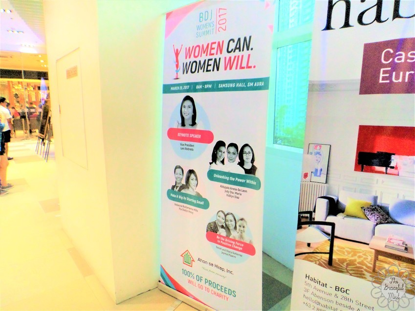 BDJ Women`s Summit 2017: Women Can. Women Will. - Samsung Haul at SM Aura - March 25, 2017 - Guest Speakers - Vice President Leni Robredo - Abbygale Arenas - Jodi Sta. Maria - Hidilyn Diaz - Rebecca Bustamante-Mills - Pia Gladys Perey - Jamie Pizarro of TheBullRunner - Danah and Stacy Gutierrez of Plump.Ph - Philippines - Events - Filipino - Lifestyle Blogger - (Image by @TheGracefulMist | www.TheGracefulMist.com)