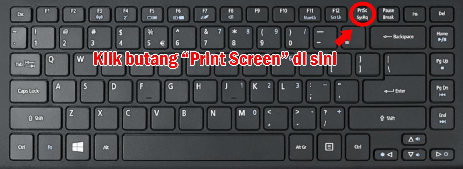 Cara Print Screen Pada Laptop Atau Komputer Anda Inspirasi Sinergi Production