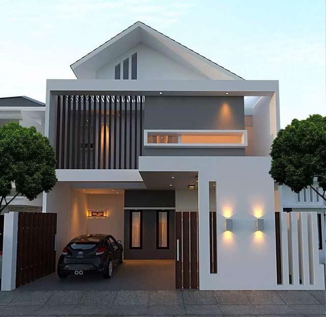 Desain Rumah Minimalis Modern Terbaik Paling Populer