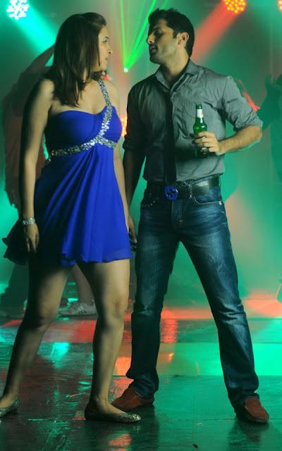 Gutta Jwala Blue Dress