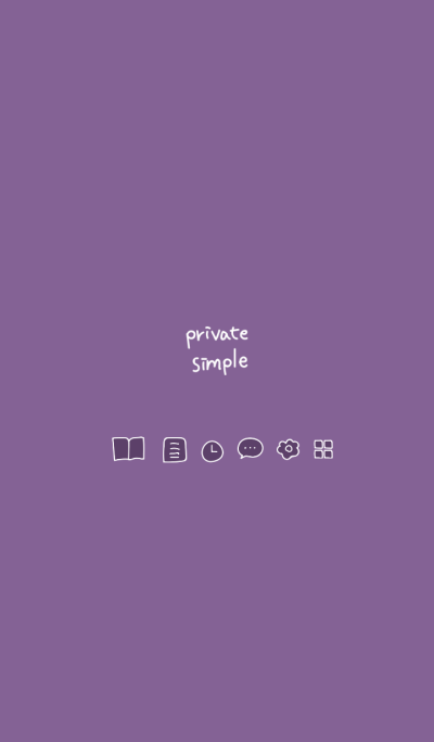 Private simple -viola-