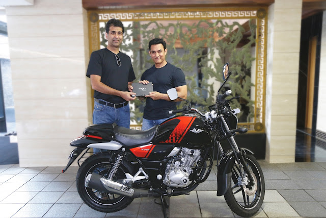 Aamir Khan Gets His Own Customized Bajaj V