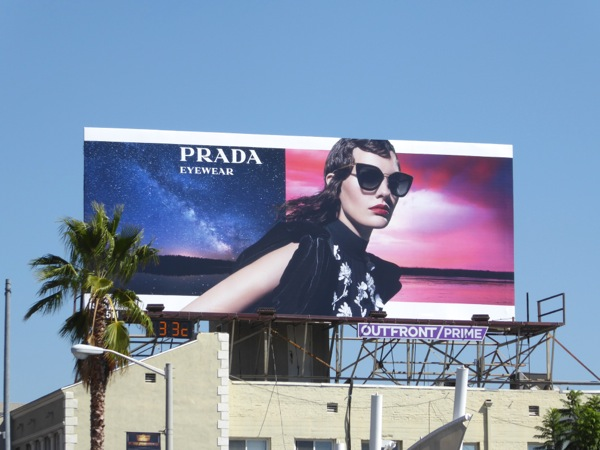 Prada Eyewear Fall 2016 billboard