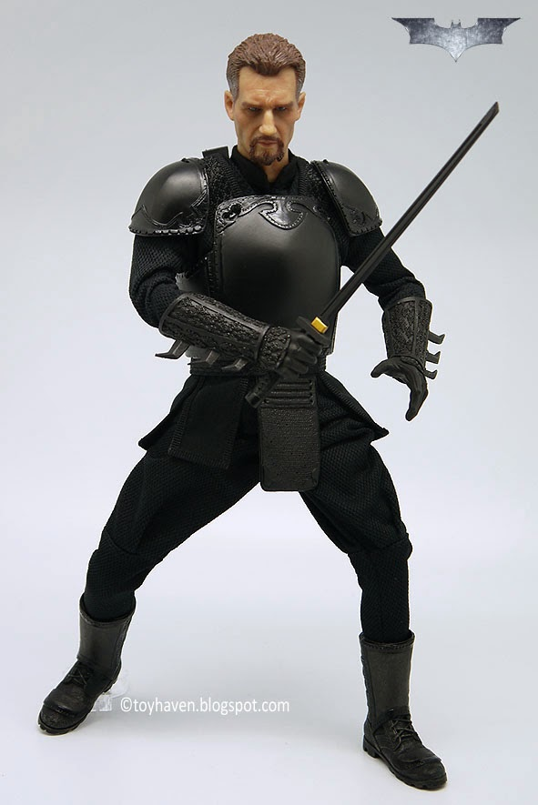 Toyhaven Figure Club 1 6 Scale The League Of Shadows Quot Ducard Quot Ninja Shadow Master Figure Review Ii