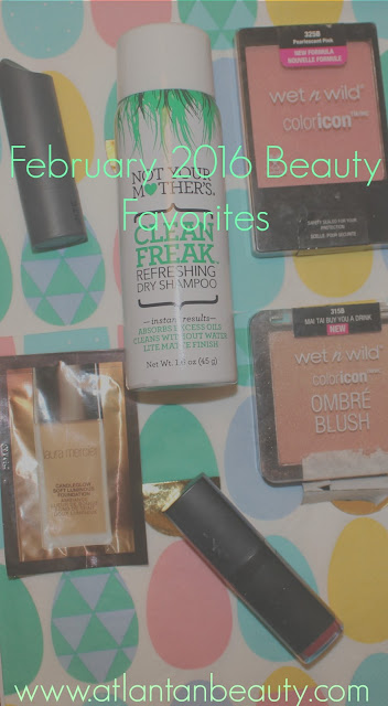 February 2016 Beauty Favorites
