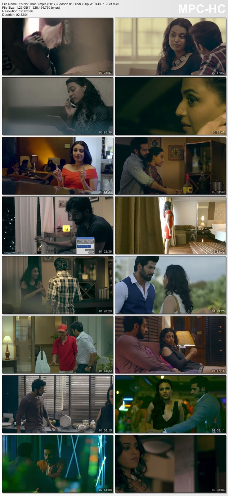It's Not That Simple (2017) Season 01 Hindi 720p WEB-DL 1.2GB Desirehub